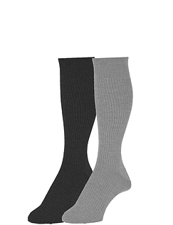 Pack of 2 Immaculate Long Length Sock