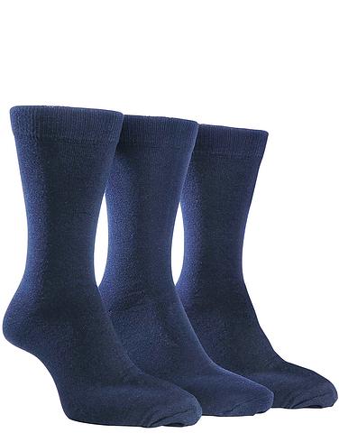 Farah 3 Pack Plain Socks
