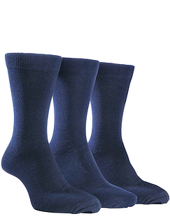 Farah 3 Pack Plain Socks