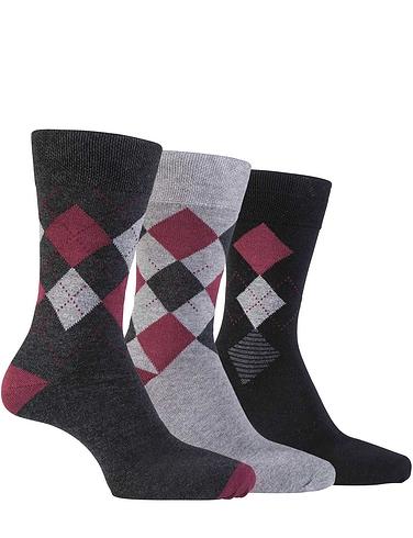 Farah 3 Pack Mixed Socks