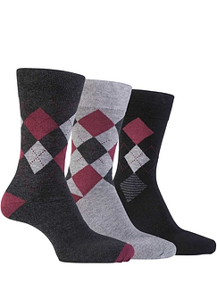 Farah 3 Pack Mixed Socks
