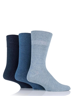 Gentle Grip Diabetic Socks  6 Pack