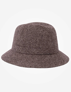 Drop Brim Trilby Hat