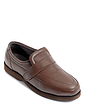 Leather Touch Fastening Shoe