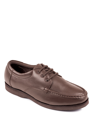 Leather Lightweight Lace Shoe