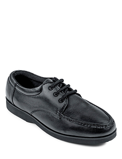 Leather Lightweight Laceup Shoe