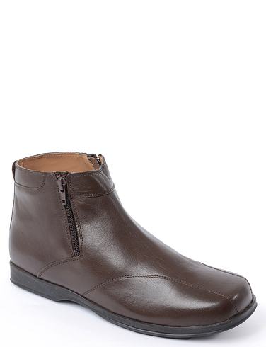 Leather Dual Fit Twin Zip Boot