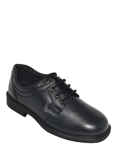 Leather Dual Fit Lace Shoe