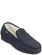 Dr Keller Thermal Lined Moccasin Style Slipper