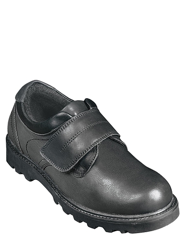 Leather Velcro Walking Shoe