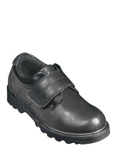 Leather Velcro Walking Shoe