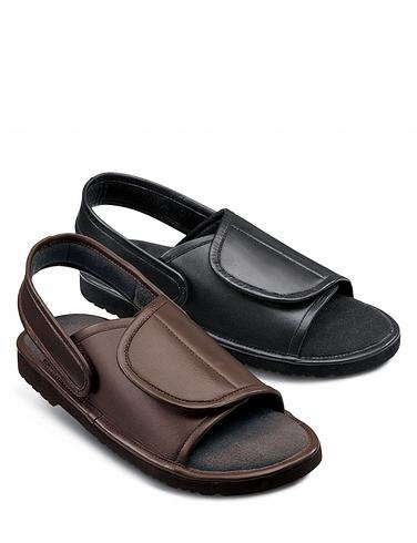 Multi Fit Uk  Black Shoes Wide Feet