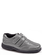 Leather Dual Fit Twin Touch Fastening Shoe