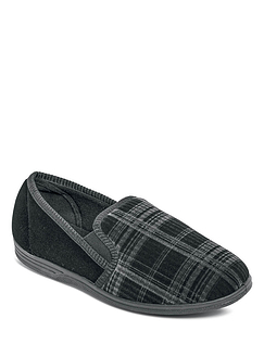 Washable Velour Slipper.