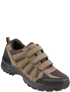 Men's Triple Strap Wide Fit Hiker Shoe