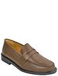 Leather Penny Loafer Slip On Shoe