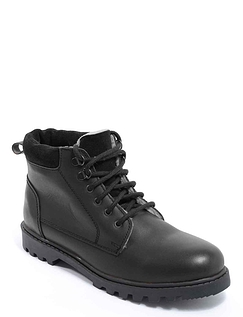 Pegasus Sherpa Fleece Lined Leather Boot