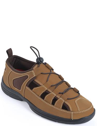 Leather Adjustable Sandal