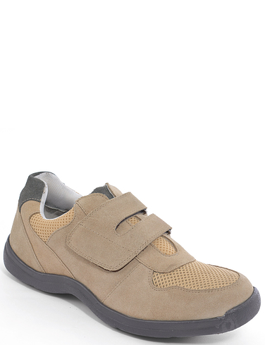 Suede Touch Fasten Travel Shoe