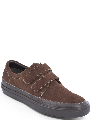 Suede Touch Fasten Shoe