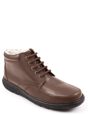 Mens Thermal Lined Lace Boot