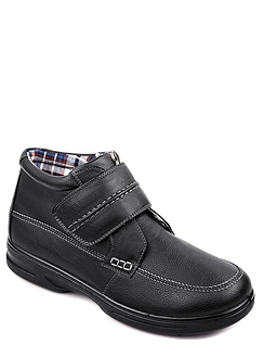 Dr Keller Touch Fasten Wide Fit Boot