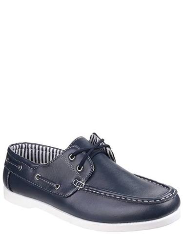 Falmouth Mens Lace Boat Shoe