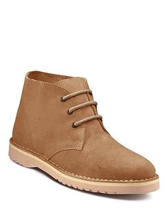 Pegasus Classic Suede Desert Boot (standard fit)