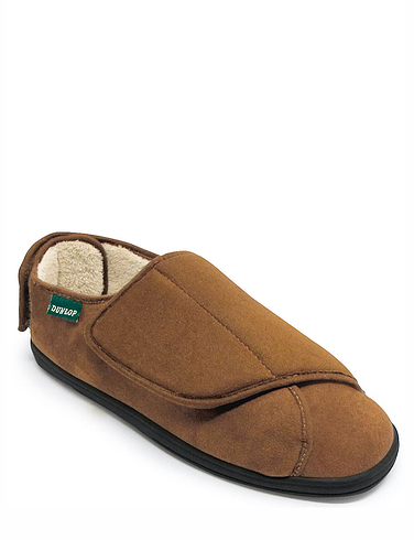 Dunlop Multi Fit Fleece Lined Slipper