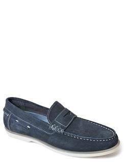 Suede Slip On Loafer