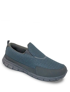 Pegasus Standard Fit Mesh Slip on Trainer