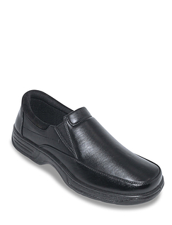 Cushion Walk Wide Fit Slip On Shoe With Gel Pad