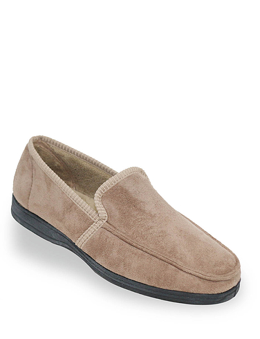 Memory Foam Slipper with Outdoor Sole