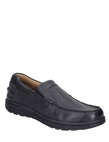 Mens Hush Puppies Casual Slip On Moccasin Shoe