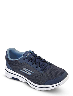 Skechers Mens Wide Fit Trainer Go Walk 5 Qualify