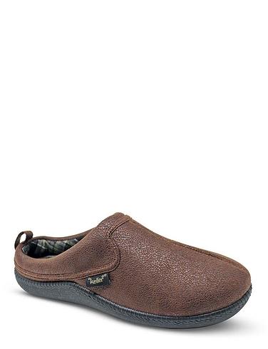 Dr Keller Wide Fit Mule Slippers