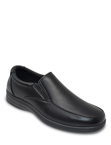 Dr Keller Wide Fit Slip On Comfort Shoe