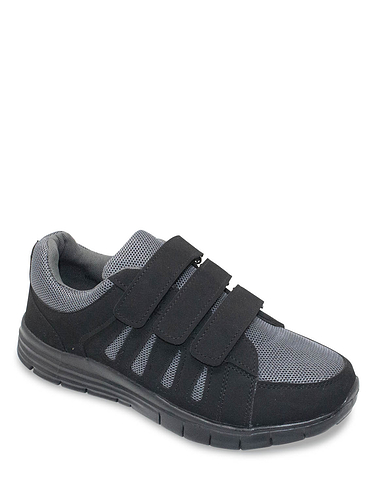 Pegasus Wide Fit Triple Strap Mesh Trainer