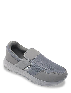 Pegasus Wide Fit Slip On Mesh Leisure Shoe