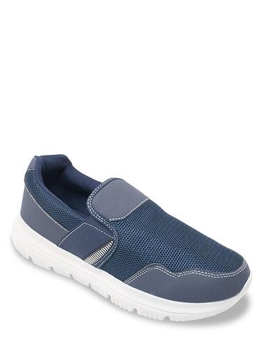 Pegasus Wide Fit Slip On Mesh Leisure Shoes