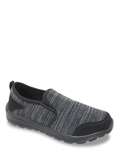 Pegsus Slip On Wide Fit Trainer