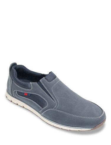 Dr Keller Wide Fit Slip On Shoe