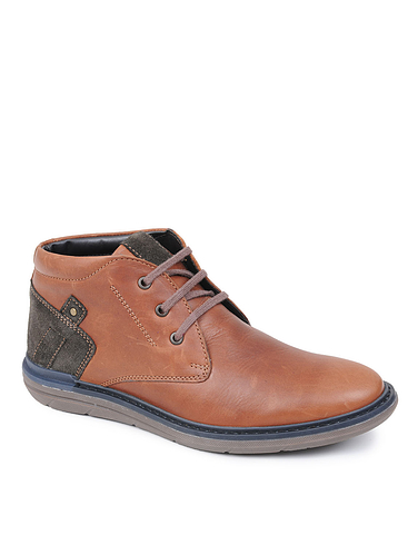 Catesby Luxury Leather Lace Mens Boot
