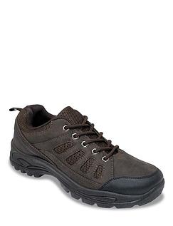 Pegasus Wide Fit lace Walking Shoe