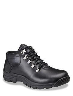 Pegasus Leather Waterproof Wide Fit Lace Hiker Shoe