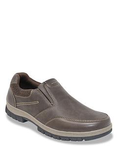Dr Keller Slip On Wide Fit Walking Shoe