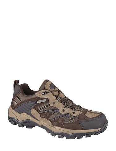 Leather Waterproof Lace Hiking Shoe
