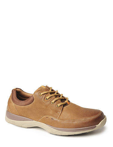 Leather Lace Casual Comfort Shoe
