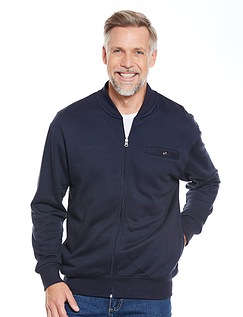 Zip Through Fleece Jacket
