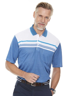 Pegasus Stripe Polo